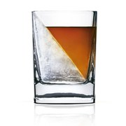 Whiskey Wedge Glass and Ice Mould