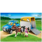 Playmobil Horse Farm SUV with Horse Trailer (5223)