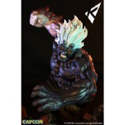 Street Fighter Oni Akuma Heo EU Exclusive 1:6 Scale Diorama