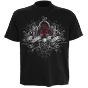 Spiral Men's IN GOTH WE TRUST T-Shirt - Black