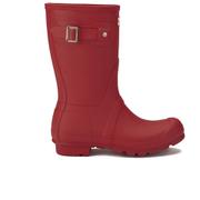 Hunter Women's Original Short Wellies - Military Red