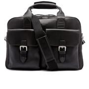 Aspinal of London Men's Harrison Overnight Business Bag - Black