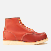 Red Wing Men's 6 Inch Moc Toe Leather Lace Up Boots - Oro Russet Portage