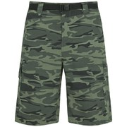 Columbia Men's Silver Ridge 10 Inch Cargo Shorts - Gravel Camo Print