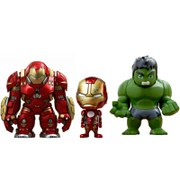 Hot Toys Marvel Avengers Age of Ultron Cosbaby Collectible Set