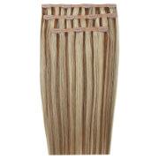 Extensions de cheveux 18 pouces à clip Deluxe de Beauty Works - Blond miel6/24