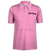 Santini 50s Maglia Rosa Heritage Series Polo Shirt - Pink
