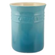 Le Creuset Stoneware Small Utensil Jar - Teal