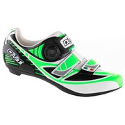 DMT Pegasus Road Shoes - White/Green Fluo