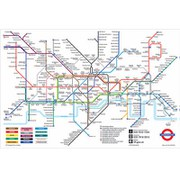 London Underground - 24 x 36 Inches Maxi Poster