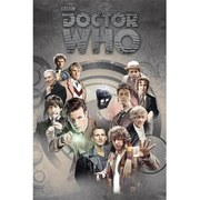 Doctor Who Doctors Through Time - 24 x 36 Inches Maxi Poster
