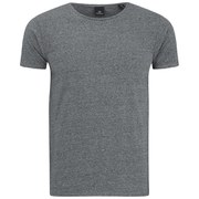 Scotch & Soda Men's Cotton Crew Neck T-Shirt - Charcoal Melange