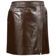 Theory Womens Berdin Skirt - Dark Cassis