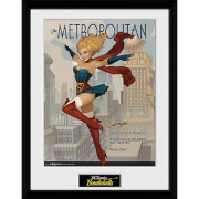 DC Comics Supergirl - 16 x 12 Inches Framed Photographic