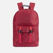 C6 Men's Pocket Backpack - Red Nylon