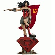 Sideshow Collectibles DC Comics Wonder Woman Red Son Premium Format Statue