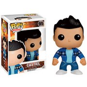 Figurine Castiel Arrêt sur image (The French Mistake) Supernatural Funko Pop! Exclu SDCC 2015