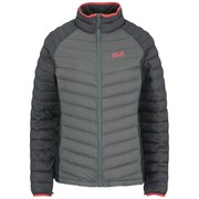 Jack Wolfskin Women's Zenon Basic Down Filled Jacket - Tarmac Grey