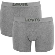 Levi's Men's 200SF 2-Pack Boxer Briefs - Middle Grey Melange