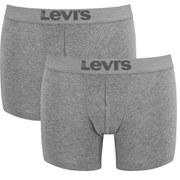 Pack de 2 bóxers Levi's 200SF - Hombre - Gris