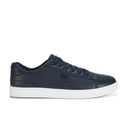 Beck & Hersey Men's Remis Perforated Trainers - Navy