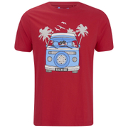 Salvage Men's Campervan T-Shirt - Red