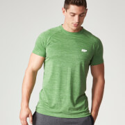 Myprotein Men's Performance Short Sleeve Top - Green Marl