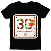 Super Mario Bros. 30th Anniversary T-Shirt - M