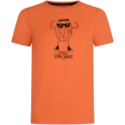 Animal Men's Strong Currants T-Shirt - Coral Orange