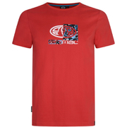 Animal Men's Claw Graphic Print T-Shirt - Bright Red