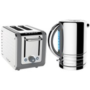 Dualit Architect Kettle and Architect 2 Slot Toaster - Grey