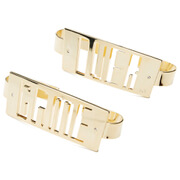 Maria Francesca Pepe Women's Game Over Knuckle Dusters - Gold