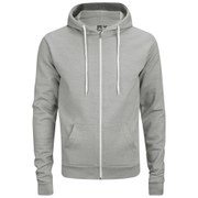 Sweat à capuche et zip Soul Star pour Homme Berkley -Gris Chiné