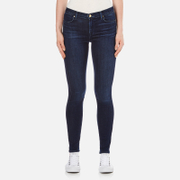 J Brand Women's 23110 Maria High Rise Blue Blend Skinny Jeans - Fix