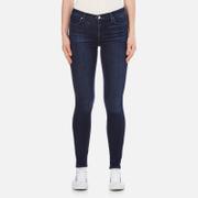 J Brand Women's 23110 Maria High Rise Blue Blend Skinny Jeans - Fix