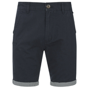 Brave Soul Men's Hansentick Chino Shorts - Navy