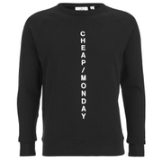 Cheap Monday Men's Rules Crew Neck Sweatshirt - Punk Black