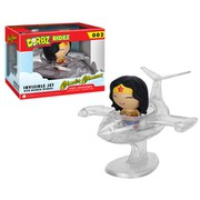 Figurine Dorbz Vinyl Wonder Woman et son avion de chasse DC Comics