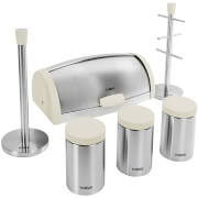 Tower IDT81200 6 Piece Kitchen Storage Set - White