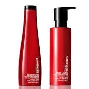Shu Uemura Art of Hair Color Lustre Sulfate Free Shampoo (300 ml) ogConditioner (250 ml)