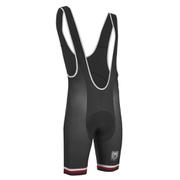 PBK Santini Replica Team Winter Bib Shorts - Red/White/Black
