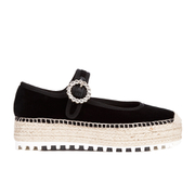 Marc by Marc Jacobs Women's Suzi Mary Jane Espadrilles - Black