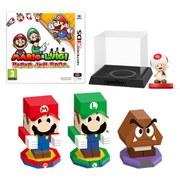Mario & Luigi: Paper Jam Bros. + Toad amiibo Pack