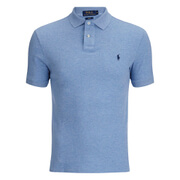 Polo Ralph Lauren Men's Short Sleeve Slim Fit Polo Shirt - Jamaica Heather