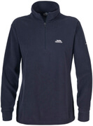 Trespass Women's Louviers Half Zip Fleece Jumper - Ink