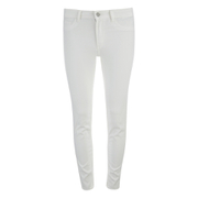 VILA Women's Commit Skinny Jeans - White