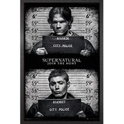 Supernatural Mug Shots - Framed Maxi Poster