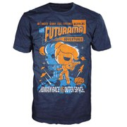 T-Shirt Futurama Adventures Pop! - Bleu Marine