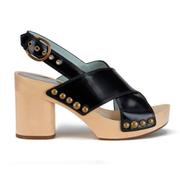 Marc Jacobs Women's Linda Criss Cross Heeled Sandals - Black
