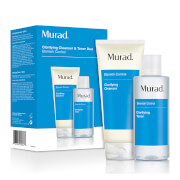 Murad Clarifying Cleanser and Toner Duo (Worth £40)